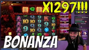 ROSHTEIN MEGA large WIN x1297 inwards Bonanza SLOT online casino bonus