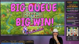 ROSHTEIN X2000 ON MICRO KNIGHTS SLOT! large QUEUE – large WIN