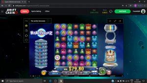 Reactoonz large Win Bet 7$   :)
