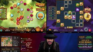 Roshtein casino bonus Mega Chic slip large win