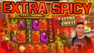 SPICY WIN ON EXTRA CHILLI | large WIN ON ONLINE SLOT MACHINE past times large TIME GAMING