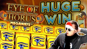 SUPER large WIN on optic of Horus Megaways!!