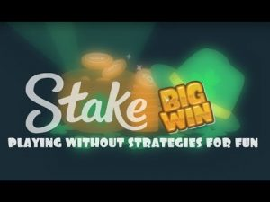 Stake.com ► FAN GAME (WITHOUT STRATEGIES) large WIN !!!