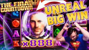Streamer tape win on Final Countdown – Top 5 large wins inwards casino bonus slot