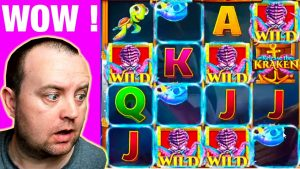 THAT IS INSANE ! SLOTS – KRAKEN SLOT large WIN