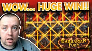 THIS GAME IS ON flaming !!! BARBARIAN FURY SLOT