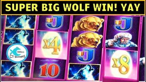 HE LIE HIKI 🐺 TIMBERWOLF SLOT MACHINE & LIGHTNING LINK MAGIC PEARL