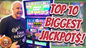 💥TOP 10 BIGGEST JACKPOTS OF MY LIFE! 💥Oct 2019 COMPILATION