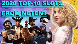 🔥 TOP 10 Netent Slots 2020   Online casino bonus Games   Gambling Machines   Netent large Wins Compilation