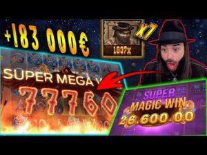 TOP 5 ! Roshtein – HUGE WINS OF THE calendar week! casino bonus Slots! #3