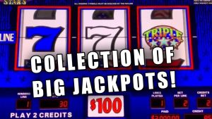TRIPLE STARS large WIN COLLECTION ★ HIGH bound SLOT PLAY ➜ JACKPOT!