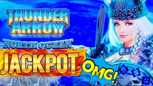 Thunder Arrow Slot Machine HANDPAY JACKPOT & HUGE WINS – Great Session | Live Slot Play At casino bonus