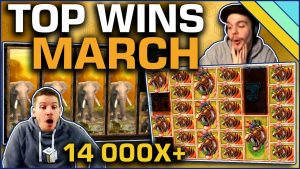 Top 7 Slot Wins of March 2019