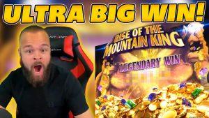 ULTRA large WIN on novel SLOT ascension OF THE mount virile individual monarch! INSANE WIN on Online Slot Bonus!