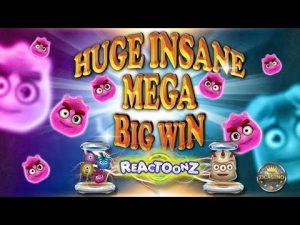 UNFASSBAR !!! DIDELIS INSANE MEGA didelis WINS BEI REACTOONZ (PLAY'N GO) - 3 € ir 5 € EINSATZ!