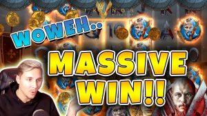 Vikings large WIN – Huge win on novel netent slot – Online casino bonus