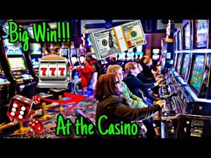 WE GOT A large WIN AT THE casino bonus!!!