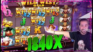 WILD westward atomic number 79 slot 1840x MEGA large WIN | Roshtein LIVE