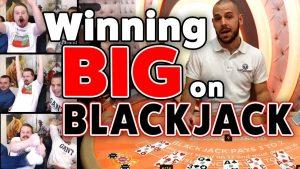Winning large on Blackjack