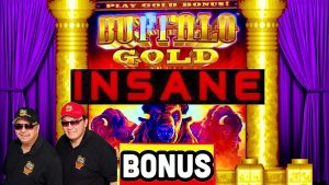 YES!💰large WIN AT SEA★BUFFALO Au SLOT INSANE RETRIGGERS!★casino bonus GAMBLING!