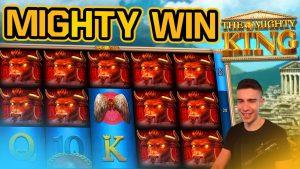 Mighty Rex의 첫 번째 보너스! | GAMOMAT 온라인 슬롯 머신에서 큰 승리