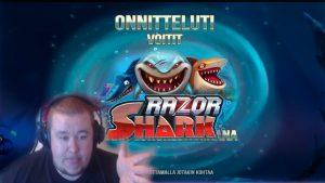 large BONUS WIN ★ Razor Shark ★ force Gaming slot, played on Vihjeareena´s current