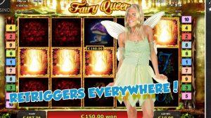 large WIN!!!!! Fairy Queen bonus circular from LIVE current (casino bonus Games)