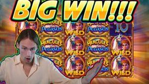 large WIN!! Hercules in addition to Pegasus large WIN – Slot from Pragmatic – casino bonus Game from Casinodaddy