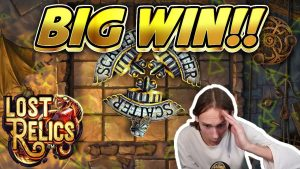 large WIN! Lost Relics large WIN – casino bonus Games from CasinoDaddy live current