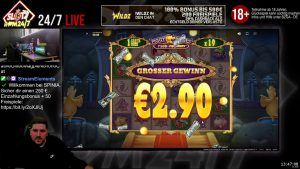 large WIN!!! Online casino bonus Slot Piggy Riches Megaways (NetEnt & cherry-red Tiger) – Bet 2€ Win 1.202€ (601x)
