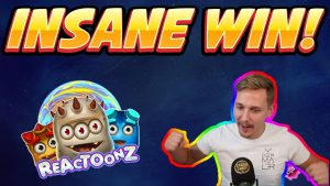 large WIN! Reactoonz HUGE WIN – from Casinodaddy LIVE current