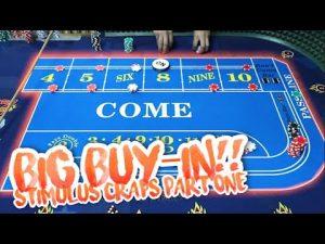 large WIN? – STIMULUS cheque CRAPS scheme #1 | Live Craps