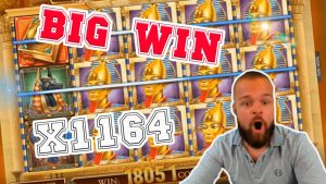large WIN! Streamer win x1164 on volume Of Dead Slot! BIGGEST WINS OF THE calendar week! #5