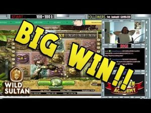 large WIN en direct sur le casino bonus Wild Sultan !!
