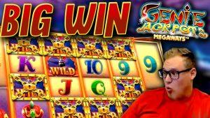 Genie Jackpots Megaways дээр том WIN (€ 1000 шинж чанар худалдан авах)