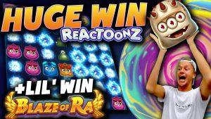 grande vitória no REACTOONZ (+ vitória de Lil no Blaze of Ra)