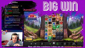 large WIN on novel GAME TNT Tumble