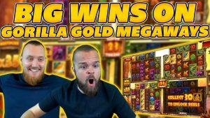 large WINS on novel GORILLA Au MEGAWAYS SLOT! HUGE BONUS WIN on Online Slots!