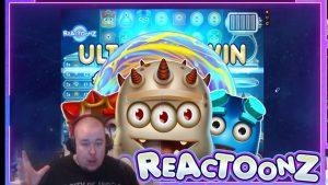 mare slot Win Reactoonz ★ Play´n GO, jucat pe curentul Vihjeareena
