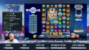 large Win From Reactoonz slot!!