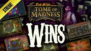 large Wins on Tome Of Madness! With Bonus Hunt!