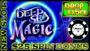 🔒novel SLOT drib & Lock Deep Sea Magic 🔒HIGH bound $25 BONUS circular LOCK IT LINK SLOT MACHINE casino bonus 🔒