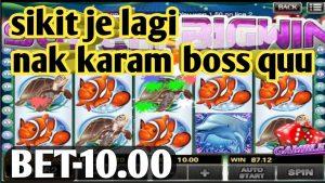 (portion-2)Nak karam bet-10.00 nasib baik keluar super bigwin    918kiss dolphin reef