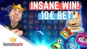 páska VYHRAJ !!! Reactoonz veľká výhra od Kasinokeisari - kasínový bonus - (online kasínový bonus)