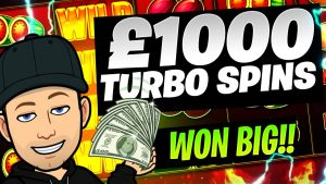 £1000 TURBO SPINS large WIN!!!!