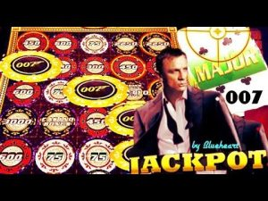 ★ JACKPOT HANDPAY! ★ total concealment CHIPS! JAMES BOND casino bonus ROYALE slot machine WINS!