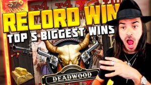 TOP 5 BIGGEST SLOTS WINS OF THE calendar week | casino bonus GAMES | tape WIN SLOT FOR DEADWOOD