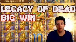 2 Massive Wins on Legacy of Dead Online Slot | large Win on Legacy of Dead Play n Go