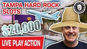 🔴 $20,000 on Tampa Hard stone Slots 🎰 LIVE inward THE casino bonus!