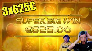 3×625€ large WIN Inferno Star casino bonus Slot !!! | Jenzoou